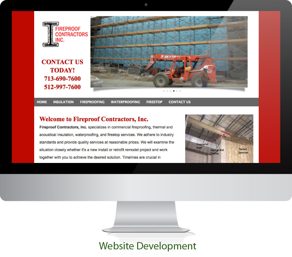 Industrial Website Design Sugar Land Texas 77478