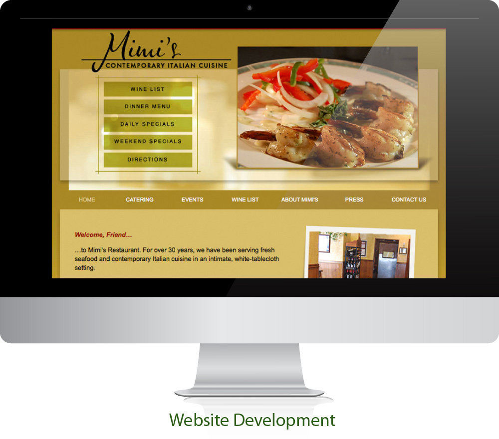 Restaurant Website Design Sugar Land Texas 77478