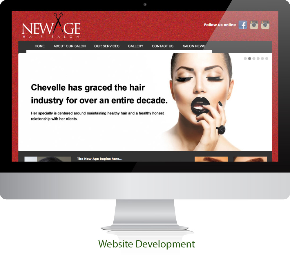 Salon Website Design Sugar Land Texas 77478