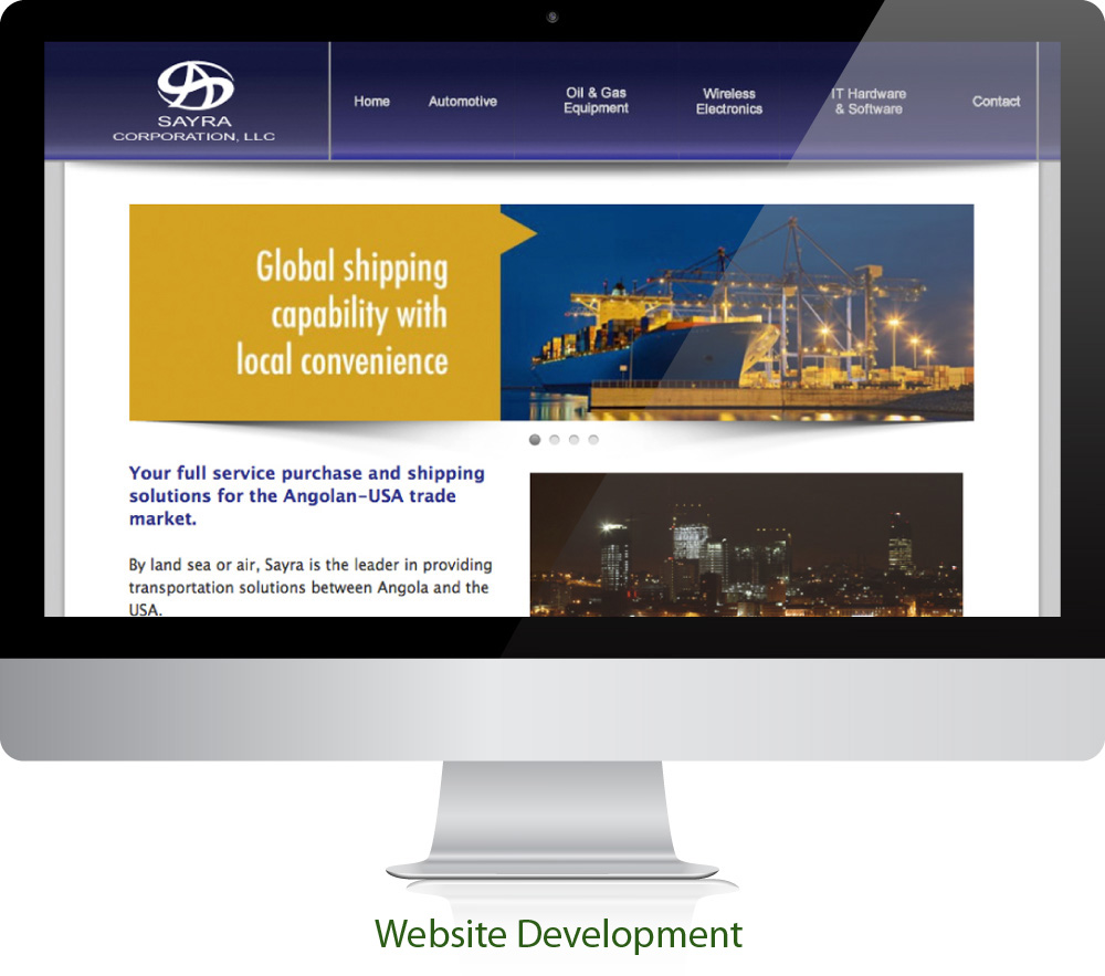 Industrial Shipping Website Design Sugar Land Texas 77478