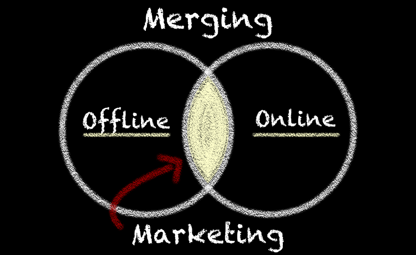Merging Offline and Online Marketing
