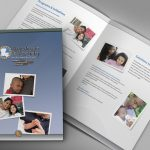 Florist brochure collateral design