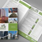 Conference registration brochure design