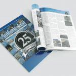 Magazine design and production