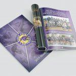 High School Program Publication design and production