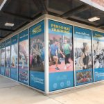 Gym Brand Development - window sign billboard